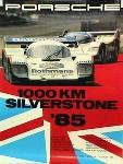 Porsche Original 1985 - 1000 Km Silverstone - Gut Erhalten