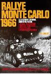 Monte Carlo Ralley 1966 - Porsche Reprint