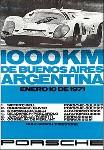 1000 Km Buenos Aires 1971 - Porsche Reprint