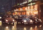 Vw Volkswagen Beetle Advertisement Nightlife
