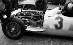 Italien Gp 1955 - Juan Manuel Fangio Mit Mercedes W196