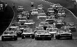 Großbritannien-gp 1970 - Leech Im Ford Mustang, Muir Im Chevrolet Camaro Und Gardner Im Mustang