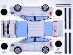 Bastelpostkarte Audi A2