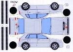 Bastelpostkarte Audi A3