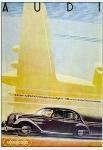 Audi Advertisement 1938 Automobile Car