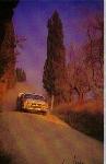 Biason Lancia 037 Race Postcard