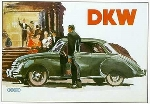 Dkw 3=6 Advertisement 1953-1955 Audi