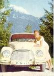 Dkw 3=6 Werbung 1957 Audi