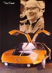Felix Wankel Invented Wankelmotor In - Postcard Reprint