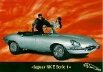Jaguar Xk Original Jubileecard - Postcard Reprint