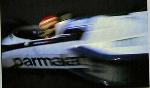 Nelson Piquet Auf Brabham Rennen