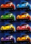 Porsche 356 Coupé Warhol - Postcard Reprint