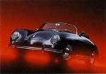 Porsche 356 Speedster - Postcard Reprint