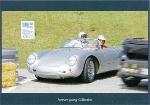 Porsche 550 Pyder With Hans - Postcard Reprint