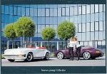 Porsche 911 Cabriolet 1983/1996 Forever - Postcard Reprint