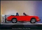 Porsche 911 Targa Modell 1967 - Postcard Reprint