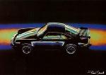 Porsche 930 Turbo - Postcard Reprint