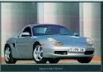 Porsche Boxster Hardtop Forever-young - Postcard Reprint