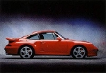 Porsche 993 Turbo Exclusive - Postcard Reprint