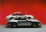 Porsche 993/911 - Postcard Reprint