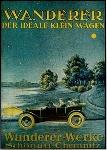 Wanderer Werbung 1925 Audi Automobile