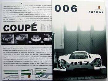 Porsche Cosmos Historic Kalender 2006