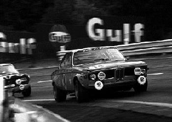 24 Stunden Von Spa 1970. Huber Und Kelleners Im Bmw Alpina 2800 Cs.
