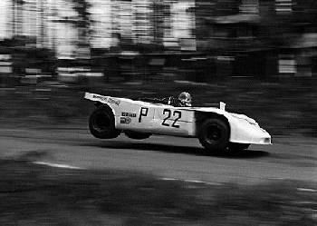 Vic Elford In His Porsche 908/3, 1000km Nürburgring 1970