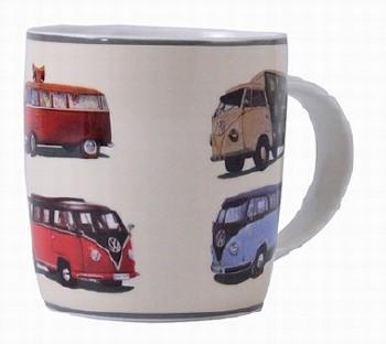 Vw Transporter Boxed Mug - Retro Vans