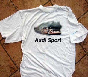 T-shirt Audi Quattro S1- Museummobile