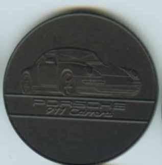 Original Porsche Calendar Coin 1994