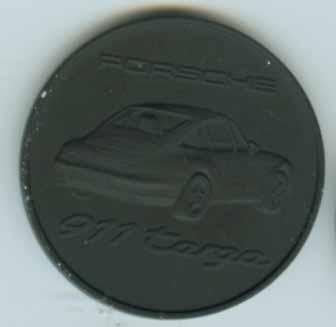 Original Porsche Calendar Coin 1996
