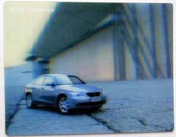 Original Bmw Hologram Collectors Postcard