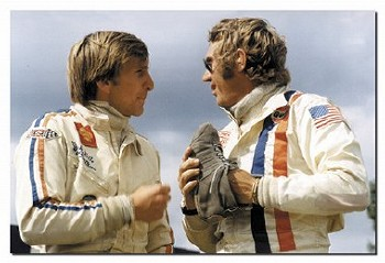 Steve Mcqueen And Derek Bell