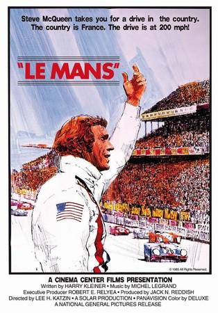 Le Mans, Steve Mcqueen - Movieposter