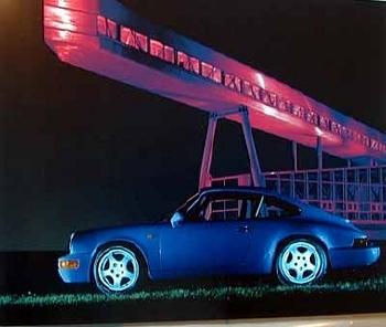 Porsche 911 Carrera Rs Poster, 1992