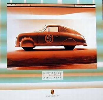 Porsche 356 Poster, 2000