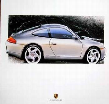 Porsche Design Studie Porsche 996 C2 Coupé, Poster 2000