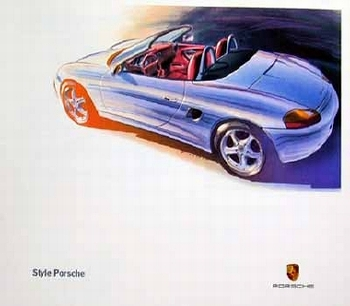 Porsche Design Studie Porsche Boxster, Poster 1998