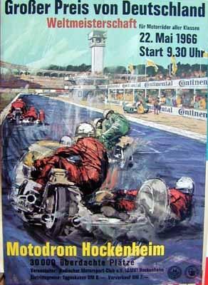 Original Renn 1966 Grosser Preis