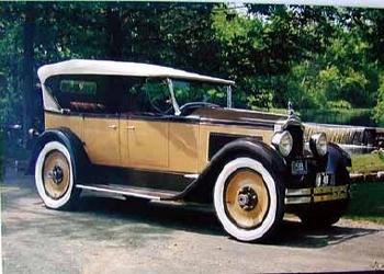 Original Veedol 1985 Packard Straight