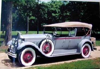Original Veedol Packard Achtzylinder 1929