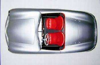 Poster 50 Jahre Porsche 1998, Porsche 356 Cabrio