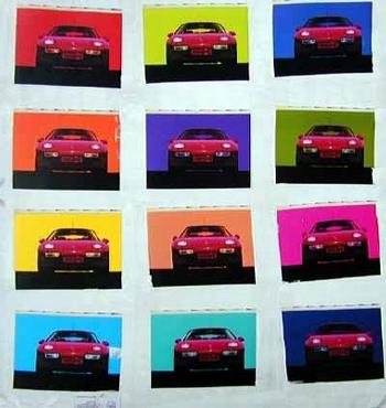 Poster 50 Jahre Porsche 1998, Porsche 928