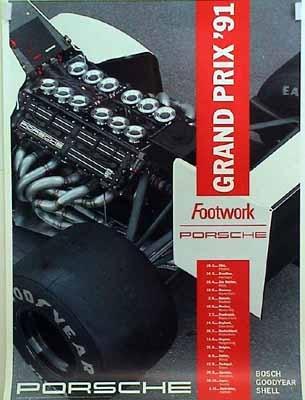 Porsche Footwork Grand Prix 1991