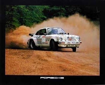 Porsche 911 Turbo Poster, 1984