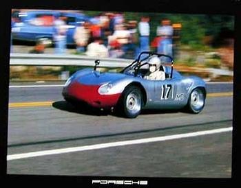 Porsche Spyder Poster, 1984