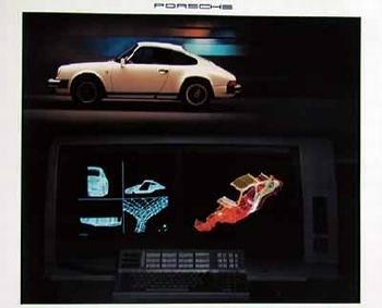Porsche 911 Poster, 1987