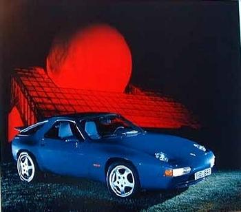 Porsche 928 Gts Coupé Poster, 1992
