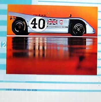 Porsche Spyder 1970 - Reduced To Win, Poster 2000
